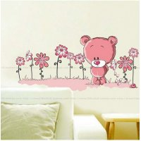 WST054 - Cute Bear Wall Sticker