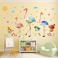 WST059 - Flamingo Wall stickers