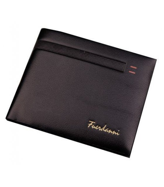 WA041 - Color embossed leather wallet mens