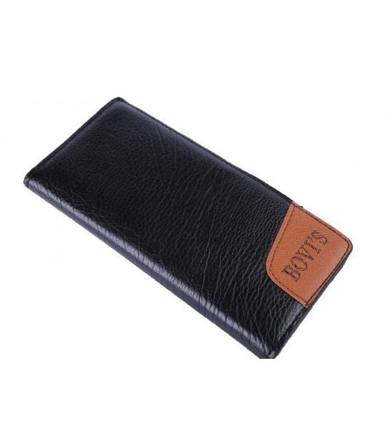 WA042 - Soft Leather Long mens wallet