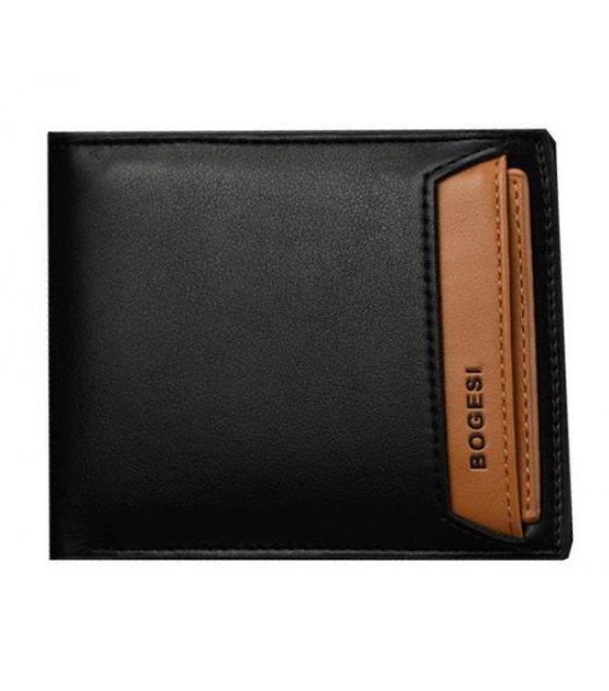 WA053 - Black Pu Leather Wallet