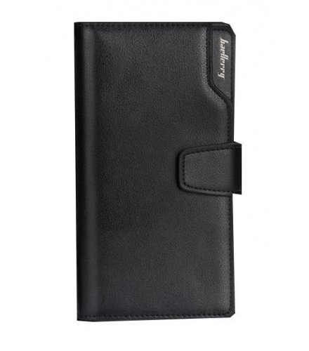WA064 - Black  Full Card Wallet