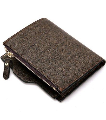 WA077 - Luxury men zipper wallet