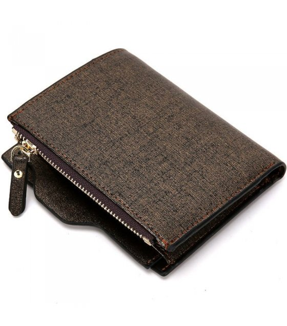 WA077 - Luxury men zipper wallet