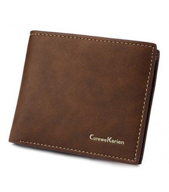 WA079 - Stylish mens short wallet