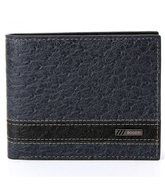 WA089 - Black Pu Leather Wallet