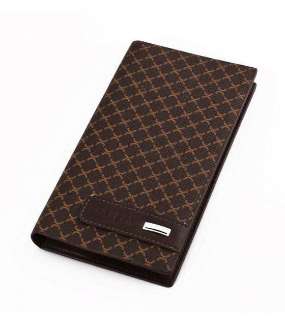 WA093 - Brown Pu Leather Wallet