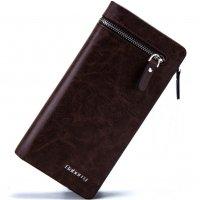 WA125 - Barborry Dark Brown Men's Wallet
