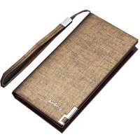 WA128 - Elegant Brown Men's Wallet