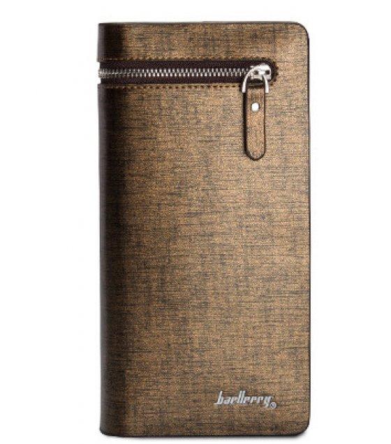 WA138 - Brown Pu Leather Men's Wallet