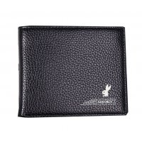 WA154 - Black Vanoboy Pu Leather Wallet