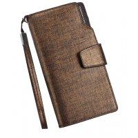 WA191 - Long zipper multi-card Wallet
