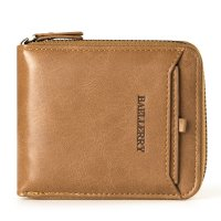 WA193 - Vertical zipper Men's Wallet