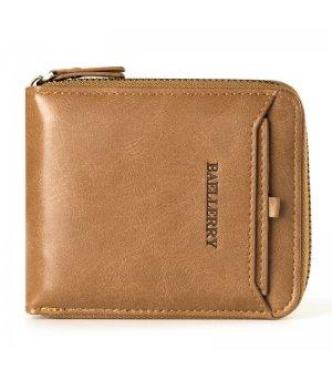 WA193 - Vertical zipper Men's Wallet