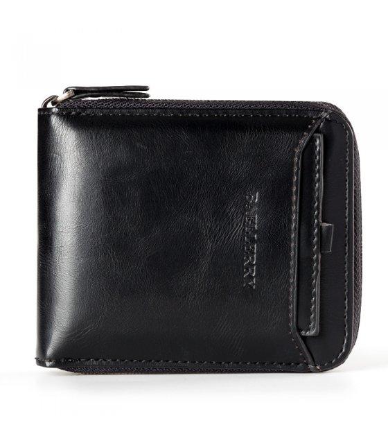 WA203 - Vertical zipper retro Wallet