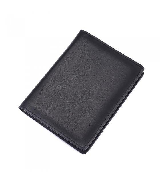WA228 - Retro leather passport Wallet