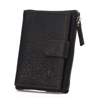 WA249 - Retro Short buckle Wallet (Genuine Leather)