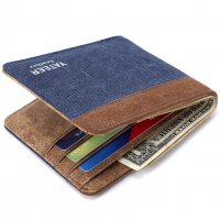 WA252 - Men's canvas wallet