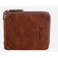 WA260 - Men's wallet short retro zipper