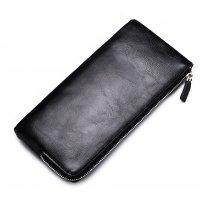 WA265 - Soft leather zipper Wallet