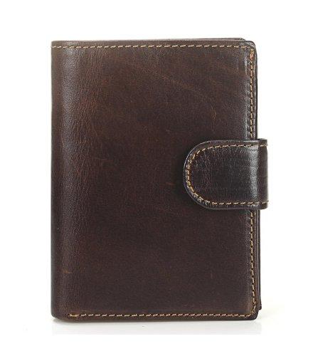 WA275 - Retro Genuine Leather Men's Short Wallet