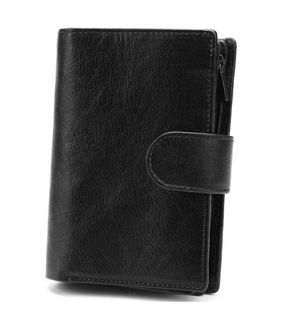 WA277 - Multi-functional Genuine Leather Men's Wallet