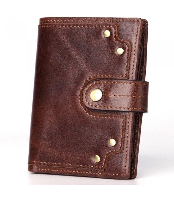 WA278 - Short Mini Genuine Leather Wallet