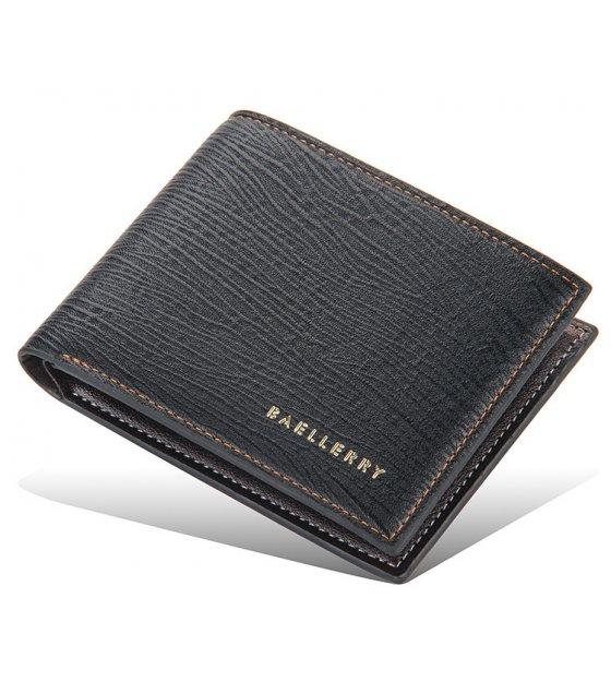 WA300 - Casual Black Men's Wallet