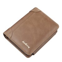 WA304 - Baellerry three-fold zipper Wallet
