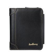 WA305 - Baellerry three-fold zipper Wallet