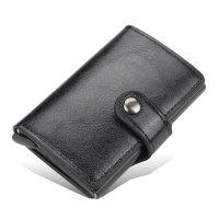 WA309 - Baellery RFID Buckle Men's Wallet