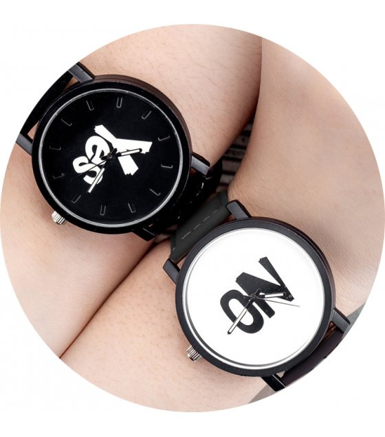 CW006 - Yes & No Couple Watches