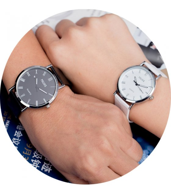 CW009 - Black & White Luxury Couple Watches
