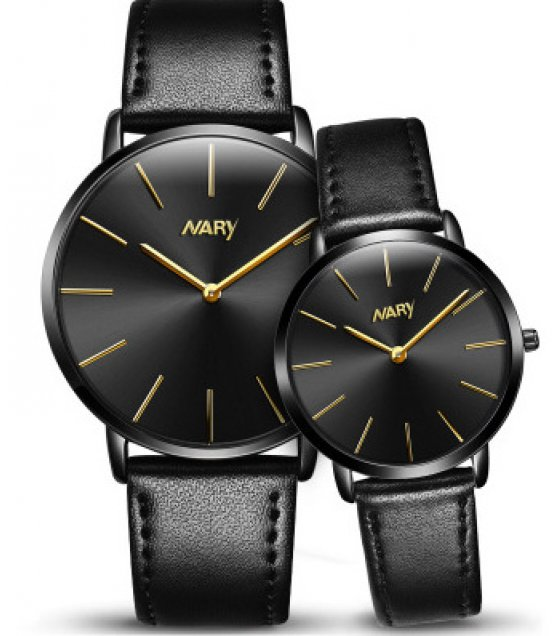 CW029 - Simple Black Couple Watch