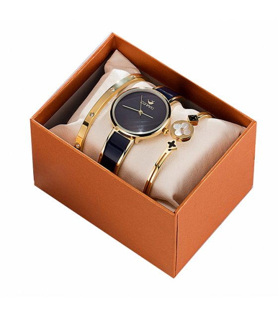 CW048 - 3 Piece Watch Box Exquisite Gift Set