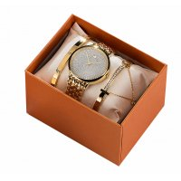 CW051 - 3 Piece Watch Box Exquisite Gift Set