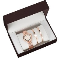 CW066 - Simple diamond hollow ladies Gift box Set