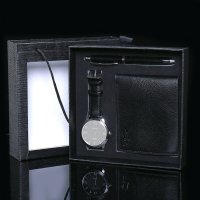 CW079 - Men's Watch & Wallet Gift Set