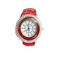 W085 - Red Pebbles Watch