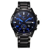 W1128 - Blue Face CURREN Watch
