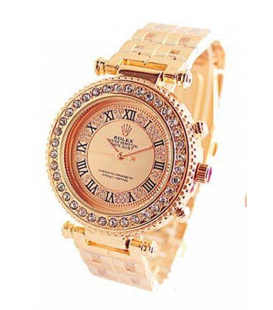 W1230 - Rolex Replica Rose Gold Watch