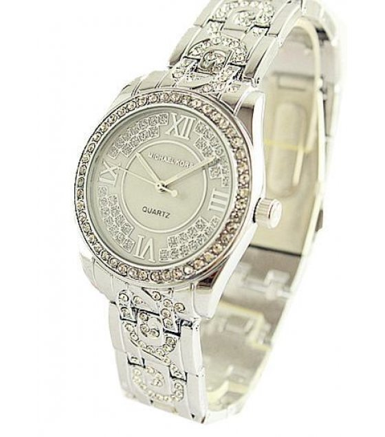 W1236 - Silver MK Diamond Watch