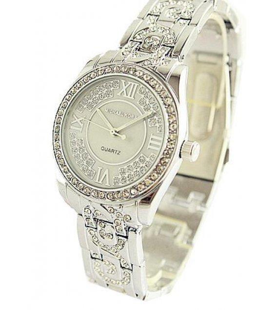 W1236 - Silver MK Diamond Watch