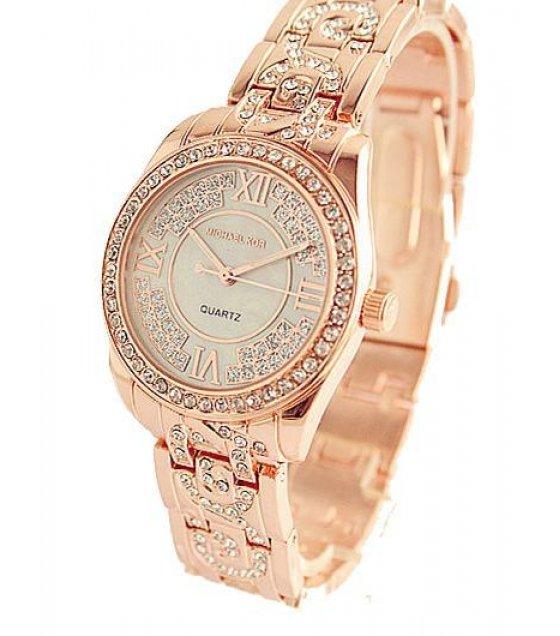 W1238 - MK Diamond Rose Gold Watch