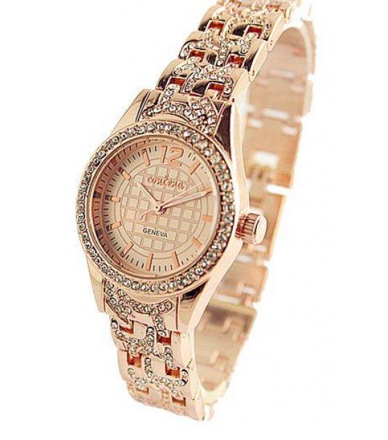 W1242 - Contena Rose Gold Watch
