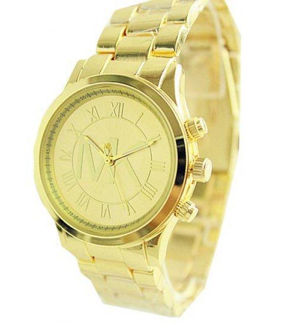 W1255 - Simple MK Gold Watch
