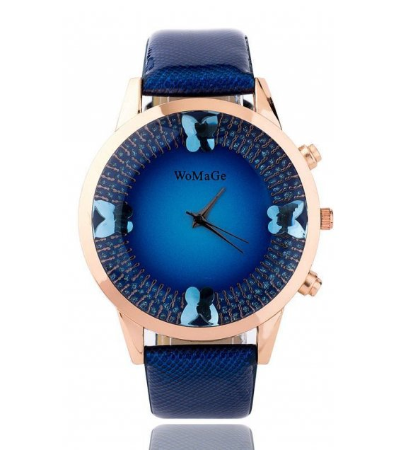 W1337 - Large Dial Butterfly Watch