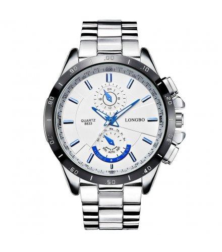W1394 - Long wave  steel strip watch