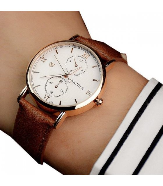 W1429 - Casual Unisex Dial Watch