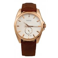 W1430  - Leather Casual Unisex Dial Watch